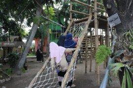 Mini Agrowisata Surabaya Jadi Jujugan Warga saat Libur Sekolah