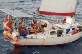 Regu SAR Ambon evakuasi kapal layar Denmark