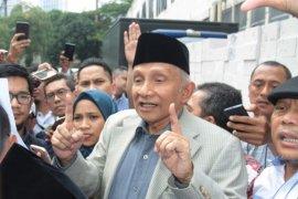 Jokowi-Ma'ruf unggul di TPS tempat Amien Rais nyoblos