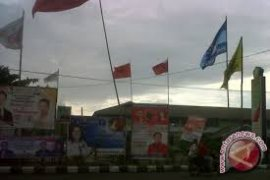 KPU Penajam Larang Pasang Spanduk-Baliho di Jalan Protokol
