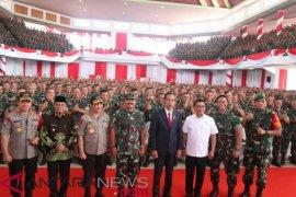Presiden Jokowi harap Babinsa ingatkan Kades penggunaan dana desa
