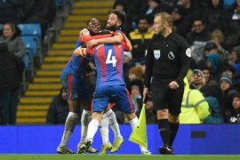 Manchester City tersungkur di kandang, dijegal Crystal Palace 2-3