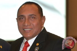 Gubernur Sumut belum terlihat di Medan pascamundur dari Ketua Umum PSSI
