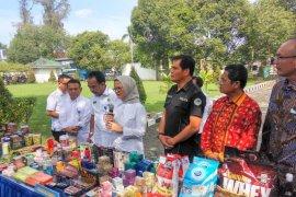 BBPOM Medan musnahkan produk ilegal senilai Rp2 miliar