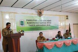 Lembaga adat berperan sukseskan pemilu 2019