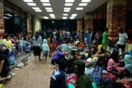 2.500 warga mengungsi di Kantor Gubernur Lampung