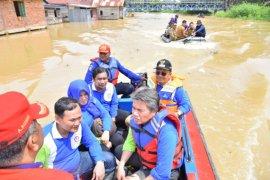 Wakil Wali Kota Jambi tinjau lokasi banjir