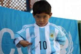 """""""Messi Kecil"""" mengungsi karena terancam Taliban"""