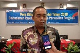 Ombudsman: Statistik laporan masyarakat di Bengkulu turun signifikan