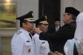 Arief - Sachrudin Resmi Dilantik Jadi Wali Kota - Wakil Wali Kota Tangerang