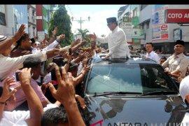 Prabowo bertemu pimpinan Sinode Gereja Protestan Maluku