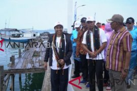 Menteri Rini resmikan Kapal Wisata Komodo dan Dermaga Pulau Rinca
