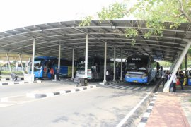 AP II Jadikan Shelter Bus Terminal 2 Pilot Project Sistem Antrean Bus