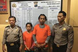 Polisi ringkus pasutri pencuri di rumah ibadah