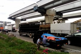93.600 kendaraan tinggalkan Jakarta via Tol Jakarta-Cikampek