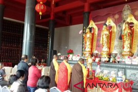 Vihara bernuansa ornamen Tiongkok hadir di Taman Simalem Resort