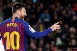 Cetak gol ke-400, Messi bawa Barcelona kalahkan Eibar