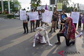 AJI Jambi gelar aksi solidaritas tolak pemberian remisi pembunuh jurnalis