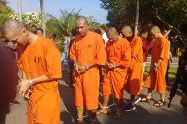Polresta Denpasar rantai kaki dan tangan 20 komplotan peredaran narkoba