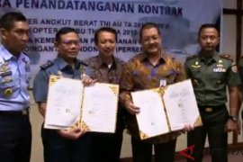 Kementerian Pertahanan pesan 17 helikopter buatan PT Dirgantara Indonesia
