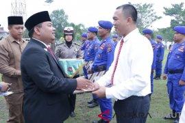 Berhasil ungkap jaringan narkotika internasional, sejumlah personel Polresta Tanjungbalai terima penghargaan