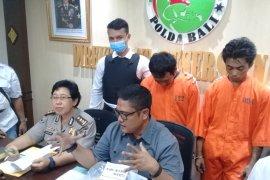 Polda Bali gulung dua kurir satu kilogram sabu-sabu