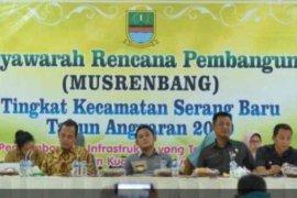 Musyawarah rencana pembangunan Bekasi fokus perbaikan infrastruktur