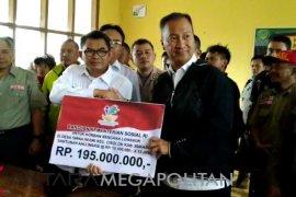 Kemensos bantu ahli waris korban longsor Sukabumi