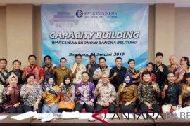 """25 wartawan ekonomi Babel ikut """"capacity building"""" BI"""