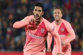 Barcelona buka 2019 dengan kemenangan di markas Getafe