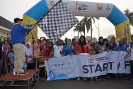 Seribuan peserta ikut jalan santai HUT Provinsi Jambi