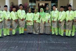 Hari Jadi Langkat ASN berpakaian etnis Melayu