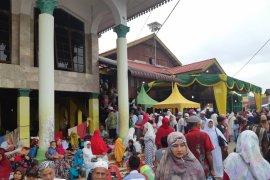 Ribuan jamaah thareqat Naqsabandiyah padati Babussalam Langkat