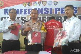 Polisi sita 165 gram emas dari pejambret di Aceh Barat