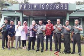 LKBN Antara visits the 1002 Barabai District Military Command