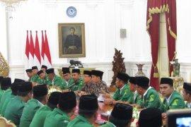 Presiden Jokowi Terima Pimpinan GP Ansor di Istana