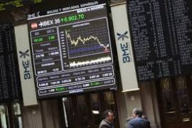 Indeks IBEX-35 Spanyol turun 0,94 persen