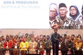 Jokowi hadiri program wirausaha dan pensiunan