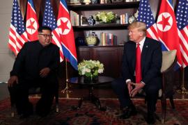 Kim Jong Un puji Presiden Amerika Serikat
