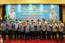 Hebat, Korpri Lampung Menjadi Percontohan Nasional