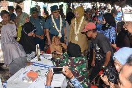 Peringati HUT ke-69, Lantamal V Gelar Bakti Sosial Kesehatan di Jember