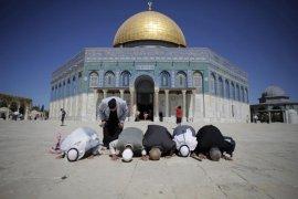 Israel serbu komplek Masjid Al-Aqsha