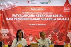 PMI dan ANTAM berikan dukungan penghargaan Satyalancana