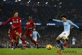 Hasil dan klasemen Liga Inggris, Manchester City pangkas keunggulan Liverpool tersisa empat poin