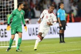 UEA imbang 1-1 dengan Bahrain pada pembukaan Piala Asia 2019