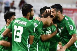 Irak lolos ke 16 besar setelah kalahkan Yaman
