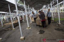 Relokasi pedagang pasar Pelita