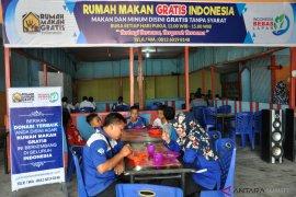 Ada rumah makan gratis tanpa syarat di Tanjung Morawa