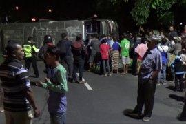 Bus Sumber Selamat Terguling di Madiun, Enam Korban Terluka