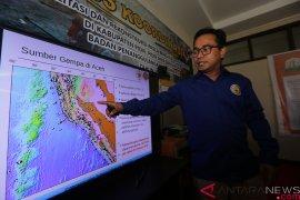 Gempa bumi bermagnitudo 4,9 guncang wilayah Sabang
